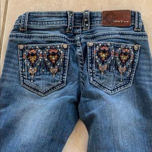 Grace in LA jeans bootcut, size 25